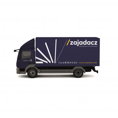 Mit unseren LKWs bringen wir täglich die Ware zu unseren Kunden in die Firma oder optional direkt auf die Baustelle.