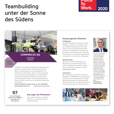 Great Place To Work - Heft der Sieger 2020