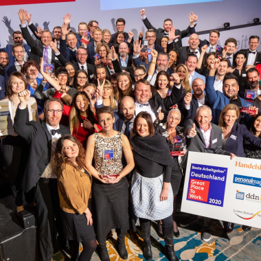 """GPTW """"Deutschlands Beste Arbeitgeber 2020"""""""