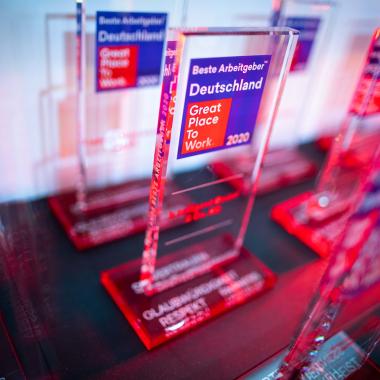 Great Place to Work®! Hiscox ist 2019 & 2020 als einer der besten Arbeitgeber Deutschlands ausgezeichnet worden!