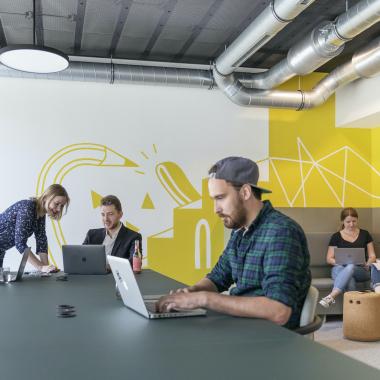 Der Code Working Space ist unser eigener Coworking Space am Standort Hamburg.