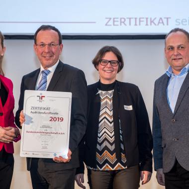 Verleihung Audit Beruf & Familie 2019 (© Harald Schlossko)