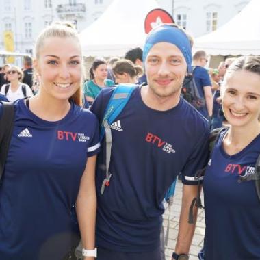 Die BTV beim Tiroler Firmenlauf