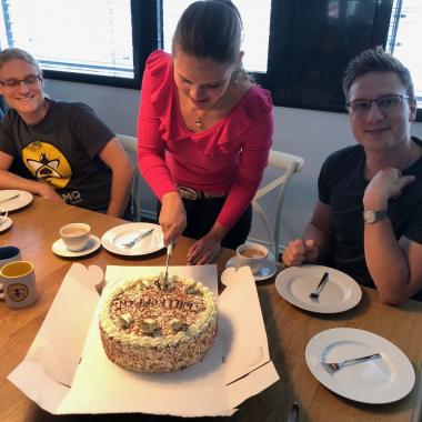 Willkommens-Kuchen