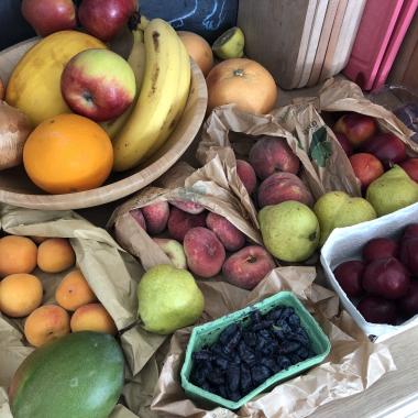 Wöchentliche Obst Lieferung
