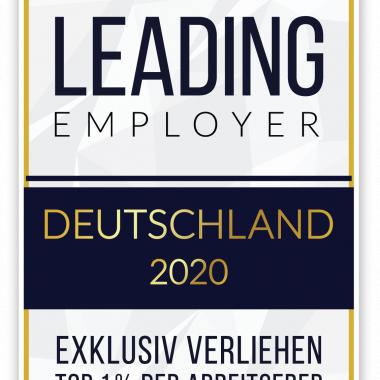 Wir gehören zum Top-1-Prozent aller Arbeitgeber in Deutschland!