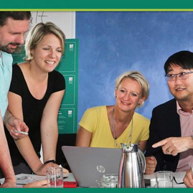 Wir arbeiten in interdisziplinären Teams, um bestmögliche Wege zu gehen