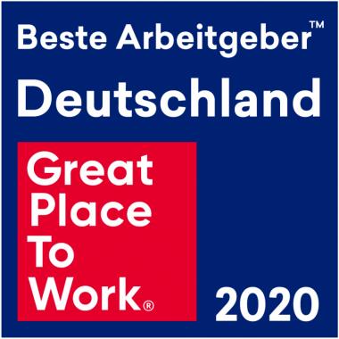 ... und wir sind stolz darauf, ein Great Place To Work zu sein.