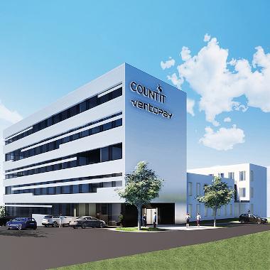 So wird unser neues Bürogebäude aussehen - Fertigstellung Herbst 2020