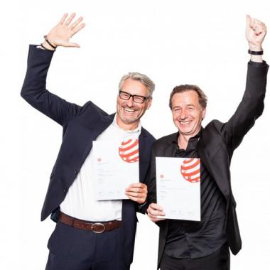 Inwerk gewinnt red dot Designpreis Jens Hohenbild und Karl Bell