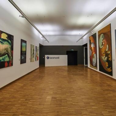 baramundi Foyer in Angrenzung zur Walter Kunstgalerie