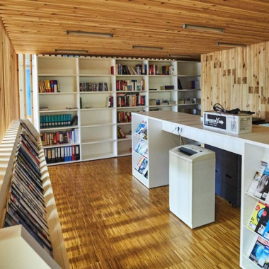 baramundi Bibliothek und Ruhezone