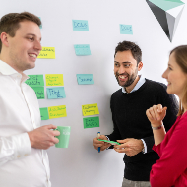 At BCG Platinion we ensure a safe space for the exchange of ideas and development of unusual strategies in small teams.