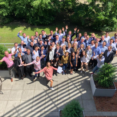 June 2019 - We happily welcomed over 60 new joiners @Munich
