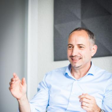 Unser Geschäftsführer Dominik Dietrich