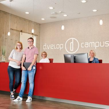 Willkommen am d.velop campus