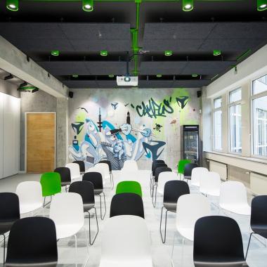 """Unser Raum """"Schanze"""" im freenet Campus"""