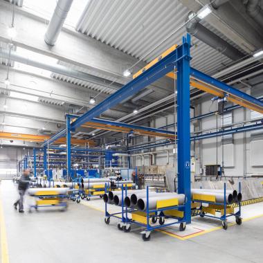 Produktion NETZSCH Pumpen & Systeme Waldkraiburg