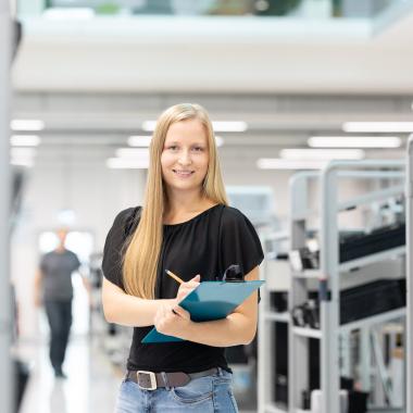 Produktionslogistik NETZSCH-Gerätebau Selb