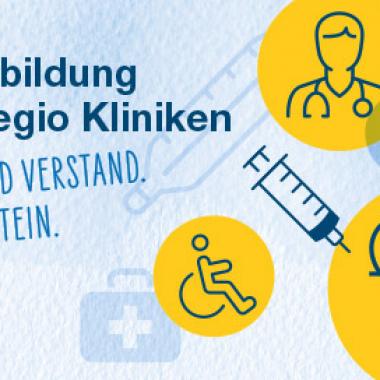 Am Bildungszentrum der Regio Kliniken werden die theoretischen Inhalte der Ausbildungen vermittelt.