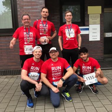 Unsere Kollegen beim Laufcup