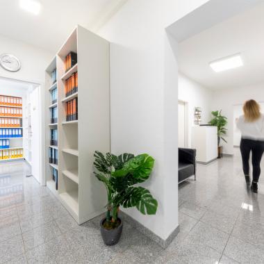Neue Büroetage