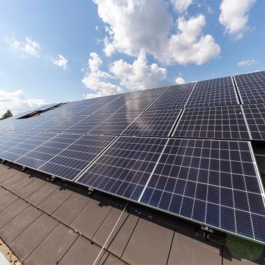 Solaranlage in Rödermark - treibt Klimaanlage an
