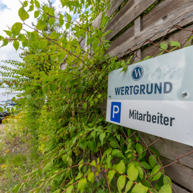 Parkplätze für Mitarbeiter in Rödermark