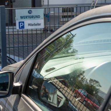Ein Pollfahrzeug für Mitarbeiter ist selbstverstädnlich/Rödermark