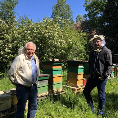 Wir sind Bienenpaten!