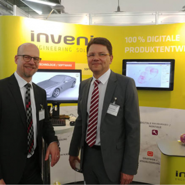 Wir knüpfen Kontakte zu Ihnen: invenio ist auf verschiedenen Karrieremessen vertreten!
