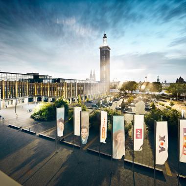 Wir lieben unser Sendezentrum in Köln-Deutz :-)