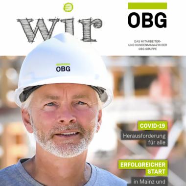 """Die """"WIR"""", unsere Firmenzeitschrift - Ausgabe 18, jetzt lesen:  https://www.obg-gruppe.de/pdfs/wir_ausgabe_18.pdf"""