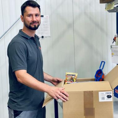 """Unsere Produkte sind nicht nur """"Made in Germany"""" sondern werden auch im eigenen Lager verpackt und verschickt."""