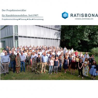 Das Team RATISBONA: 130 Anpacker, Mitdenker und Zukunftsgestalter!