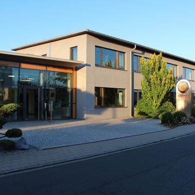 Firmen-Stammsitz in Schwaig bei Nürnberg
