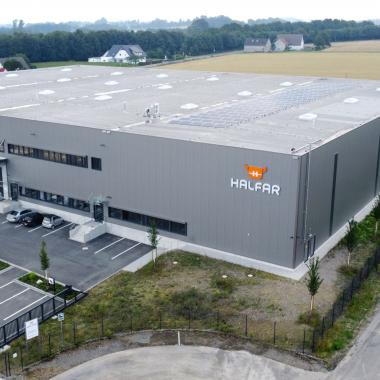HALFAR® Logistikzentrum in Bielefeld-Altenhagen