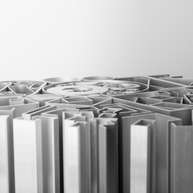 Großes Lagersortiment an Aluminiumprofilen