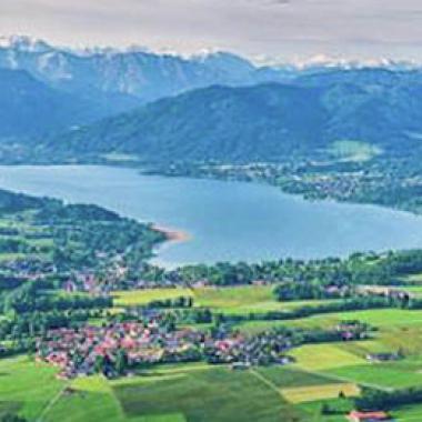 Der Tegernsee - Sitz unseres Unternehmens