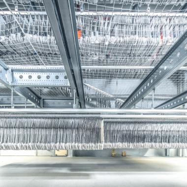 Kundenprojekt Fiege, Lager SportScheck: Planung und Realisierung des Logistikzentrum am Standort Thüringen