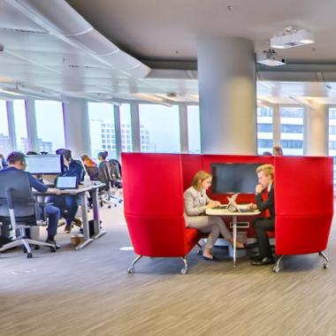 Unser Open Space Office in Düsseldorf
