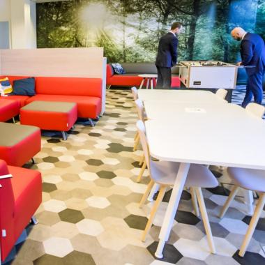 Unsere Lounge in Frankfurt