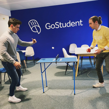 The game is on! Kreative Pausen bei GoStudent.