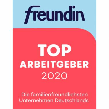 """In der Zusammenarbeit zwischen Kununu und dem freundin Magazin wurde Gundlach als familienfreundlichstes Unternehmen in der Kategorie """"Immobilien / Facility Management"""" ausgezeichnet."""