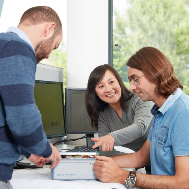 TEAMARBEIT: Gemeinsam für unsere Kunden