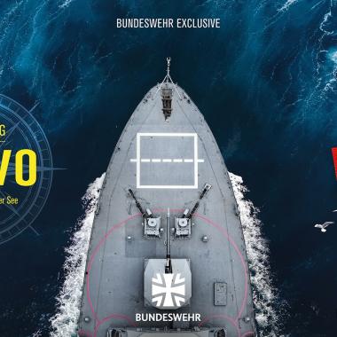 """Alle Folgen von """"Besatzung Bravo - Kameradschaft auf hoher See"""" finden Sie auf unserem YouTube Kanal Bundeswehr Exclusive."""