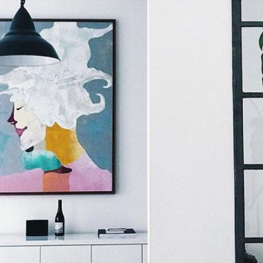 In unseren Räumen ist Kunst entstanden. Sieht man noch heute – und das lieben wir.