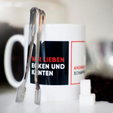 Personalisierte Kaffeetassen für jeden Mitarbeiter