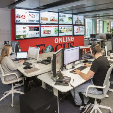 Mit unseren führenden Marken wie FOCUS Online, CHIP, NetMoms, Finanzen100 und The Weather Channel und dem Einsatz neuester Technologie streben wir nach journalistischer Innovation.