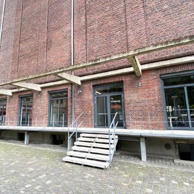Direkt am Hafen findest Du das Büro Münster.